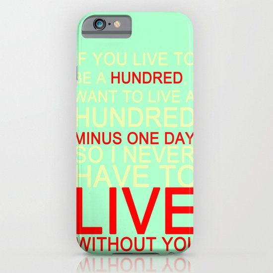 quotes iPhone & iPod Case