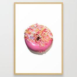 Craving Krispy Cremes Pink Framed Art Print