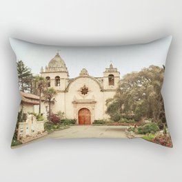 Carmel Mission Rectangular Pillow