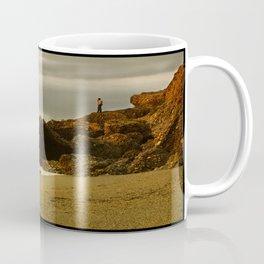 Alone on the rocks Coffee Mug