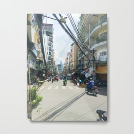 Ho Chi Minh Backstreets Metal Print