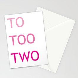 Grammar II Stationery Cards