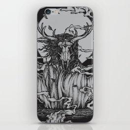 DREAMTIME - BLACK iPhone Skin