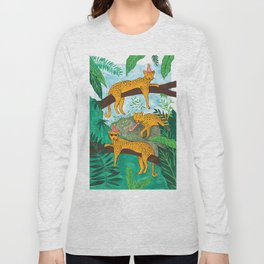 Party Leopards Long Sleeve T-shirt