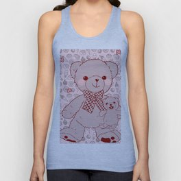 The Adventures of Bear and Baby Bear-Pastry2 Unisex Tank Top
