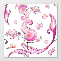 The Joyful SIren Canvas Print