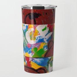 Wood Dominoes - Colour - #2 Travel Mug