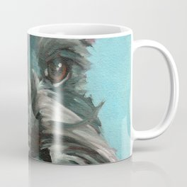 Schnauzer Dog Portrait Coffee Mug