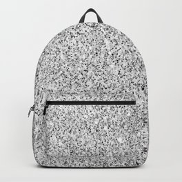 Beautiful Silver glitter sparkles Backpack