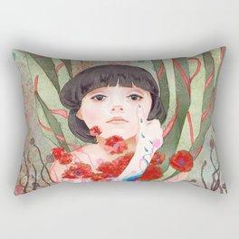 #8 Poppy Rectangular Pillow