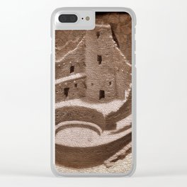 The Cliff Dwellers - Legends Of America Clear iPhone Case