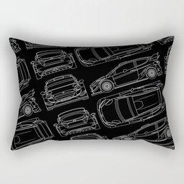 F Fiesta RS WRC Rally Rectangular Pillow