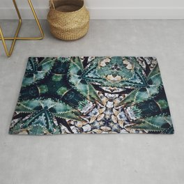 Succulents On Show No 3 Rug