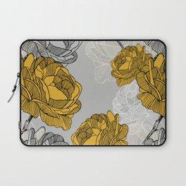 Linear flower of roses Laptop Sleeve