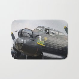 Thumper and the Lancaster Bath Mat