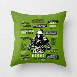 The 100: Lexa Throw Pillow