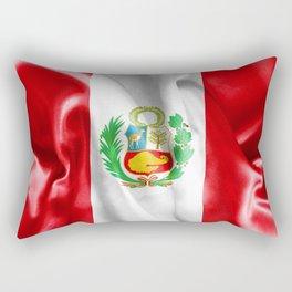 Peru Flag Rectangular Pillow