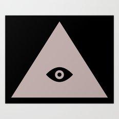 Tri-Eye Art Print