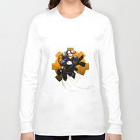 israel Long Sleeve T-shirts featuring ART SLAM LIVE™ Apparel by Tony Snipes