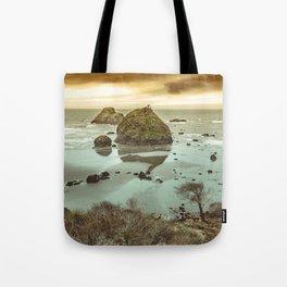 California Ocean West Coast Tote Bag