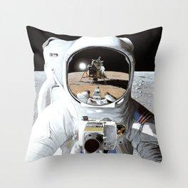 First Men Throw Pillow