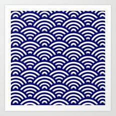 Circle B Art Print