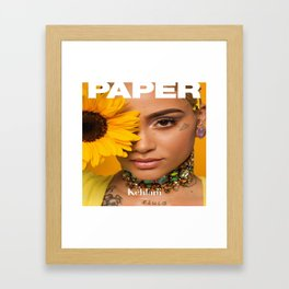 Kehlani 21 Framed Art Print