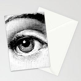 Lina Cavalieri - right eye Stationery Cards
