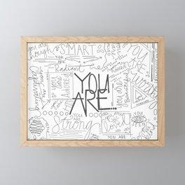 You Are Framed Mini Art Print
