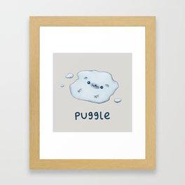Puggle Framed Art Print