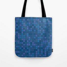 november blue geometric pattern Tote Bag