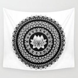 Lotus Mandala Wall Tapestry