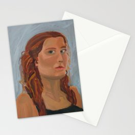 Self Portrait Ending Adolescence Stationery Cards