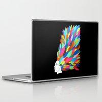 creativity Laptop & iPad Skins featuring Creativity by Roparisart