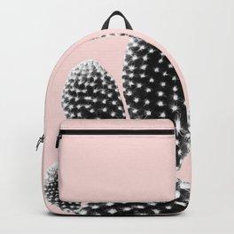 Black Blush Cactus Dream #1 #plant #decor #art #society6 Backpack