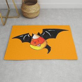 Candy Corn Bat Rug
