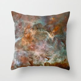 Star Birth and Death Hubble Telescope Photo Throw Pillow