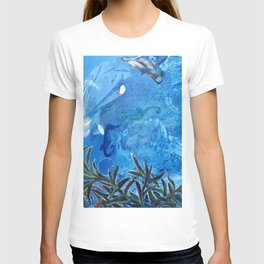 Whale and Seahorse T-shirt