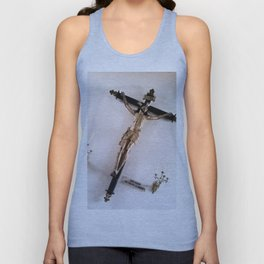 Christ crucified. Unisex Tank Top