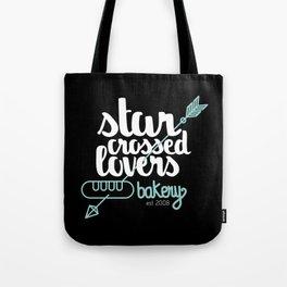 Starcrossed lovers bakery Tote Bag