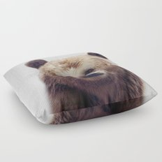Bear - Colorful Floor Pillow