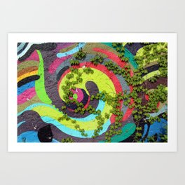 Nature vs. Nurture II Art Print