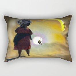 Moon Glide Rectangular Pillow