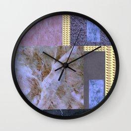 purple comfort Wall Clock