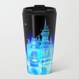 Blue Ice Frozen Enchanted Castle Travel Mug