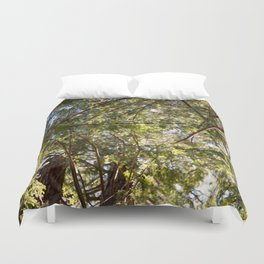 Redwood Ceiling  Duvet Cover