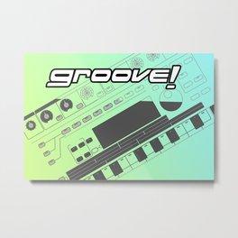 Groove! Metal Print