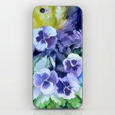 Pansies Crush  iPhone & iPod Skin