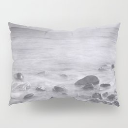 """Black sea rocks"" Pillow Sham"
