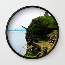 Seaside Castle Wall Clock